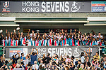 HSBC Hong Kong Rugby Sevens 2018 on 08 April 2018, in Hong Kong, Hong Kong. Photo by Marcio Rodrigo Machado / Power Sport Images