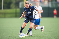 Allston, MA - Sunday July 17, 2016: Christie Rampone, Stephanie Verdoia during a regular season National Women's Soccer League (NWSL) match between the Boston Breakers and Sky Blue FC at Jordan Field.