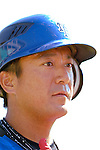 18 March 2006: Yusaku Iriki , pitcher for the New York Mets, awaits batting practice prior to a Spring Training game against the Washington Nationals. The Nationals defeated the Mets 10-2 at Space Coast Stadium, in Viera, Florida...Mandatory Photo Credit: Ed Wolfstein..