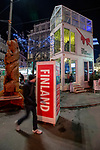BRUSSELS - BELGIUM -11 December 2018 -- Christmas market in Brussels features a specialty: the Finnish Village supported by the Regional Council of Kainuu. -- The House of Silence, you can visit the Kainuu Region through virtual reality (VR). -- PHOTO: Juha ROININEN / EUP-IMAGES