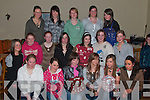 Members of Miltown/listry under sixteen football team Shield Winners pictured at the presentation of medals in Killorglin Golf Club on Friday night. Front row l-r Mairead Sheehan, Klara O'Sullivan, Fiona Murphy (Capt), Lisa O'Shea, Irene Wrenn, Stephaine O'Sullivan...Middle row l-r Noelle O'Brien, Aisling O'Meara, Sinead Cllifford, Rachel Evans, Marie Burke, Gillian Murphy, Siobhan Griffin, Ciara Kennedy, Claire O'Sullivan, Deirdre O'Shea, Orla O' Shea, and Ann Marie M Murphy. All Killarney,.   Copyright Kerry's Eye 2008