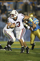 1 October 2006: T.C. Ostrander during Stanford's 31-0 loss to UCLA at the Rose Bowl in Pasadena, CA.