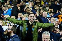 Leeds United fans celebrate after the match<br /> <br /> Photographer Alex Dodd/CameraSport<br /> <br /> The EFL Sky Bet Championship - Leeds United v Blackburn Rovers - Wednesday 26th December 2018 - Elland Road - Leeds<br /> <br /> World Copyright &copy; 2018 CameraSport. All rights reserved. 43 Linden Ave. Countesthorpe. Leicester. England. LE8 5PG - Tel: +44 (0) 116 277 4147 - admin@camerasport.com - www.camerasport.com
