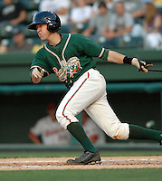 Infielder Chris Wade (32) of the Greensboro Grasshoppers in a game against the Greenville Drive on June 14, 2010, at Fluor Field at the West End in Greenville, S.C. Photo by: Tom Priddy/Four Seam Images