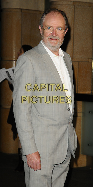 "JIM BROADBENT.World Premiere of ""The Damned United"" at the Vue West End, Leicester Square, London, England..March 18th 2009.half length glasses grey gray beard facial hair suit white shirt .CAP/CAN.©Can Nguyen/Capital Pictures."
