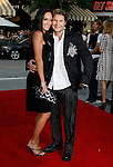 "Actor Corey Feldman and wife Susie Feldman arrive at the Premiere of Columbia Pictures' ""Step Brothers"" at the Mann Village Theater on July 15, 2008 in Los Angeles, California."