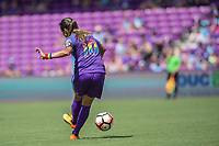 Orlando, FL - Saturday June 24, 2017: Marta during a regular season National Women's Soccer League (NWSL) match between the Orlando Pride and the Houston Dash at Orlando City Stadium.