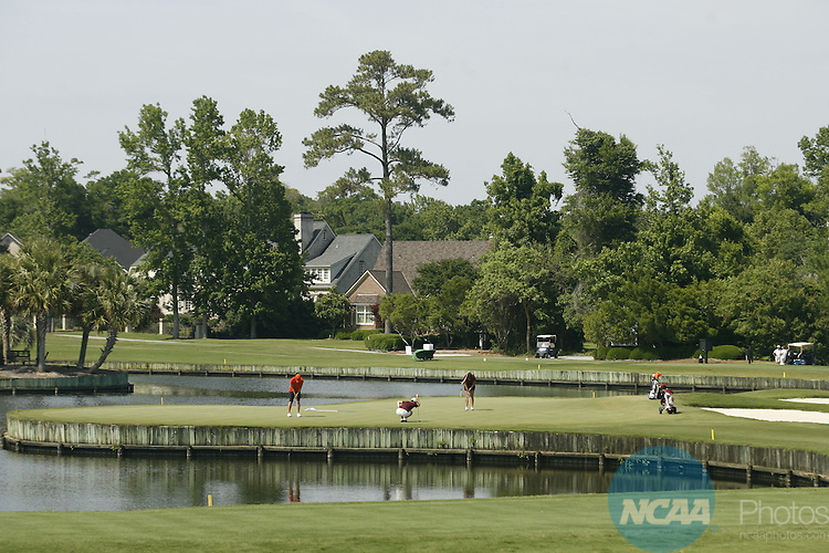 21 MAY 2010:  Golfers compete during the Division I Women's Golf Championship held at the Country Club of Landfall-Dye Course in Wilmington, NC.  Jamie Schwaberow /NCAA Photos