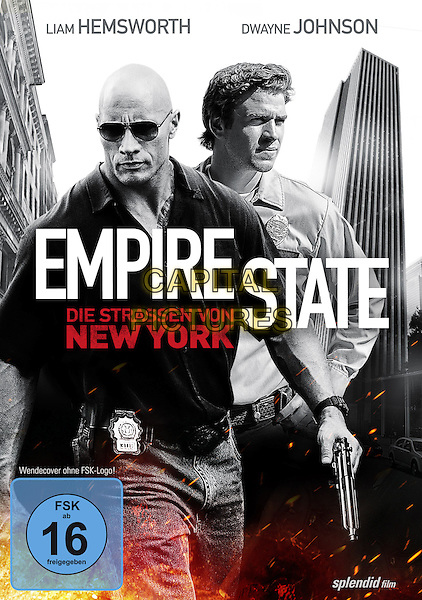 GERMAN DVD COVER ART<br /> in Empire State (2013) <br /> *Filmstill - Editorial Use Only*<br /> CAP/FB<br /> Image supplied by Capital Pictures