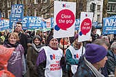 Close The Gap. People's Assembly and Health Campaigns Together march for the NHS, FundOurNHS, Fix It Now, London.