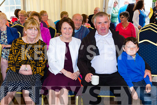 Margaret, Joan Dan and Diarmuid O'Connor at the Toureencahill Community funday on Sunday