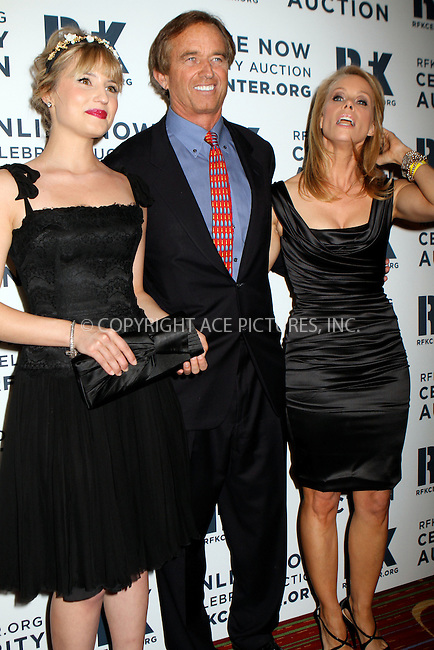 WWW.ACEPIXS.COM....December 3 2012, New York City....Dianna Agron, Robert Kennedy Jr. and Cheryl Hines attend the Robert F. Kennedy Center for Justice and Human Rights 2012 Ripple of Hope gala at The New York Marriott Marquis on December 3, 2012 in New York City....By Line: Nancy Rivera/ACE Pictures......ACE Pictures, Inc...tel: 646 769 0430..Email: info@acepixs.com..www.acepixs.com