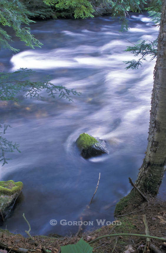 Time Exposure, Kennesis River, Haliburton Highlands, Ontario, Canada