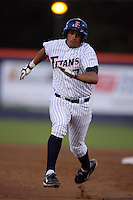 March 27, 2010: Carlos Lopez of Cal. St. Fullerton during game against Hawaii at Goodwin Field in Fullerton,CA.  Photo by Larry Goren/Four Seam Images