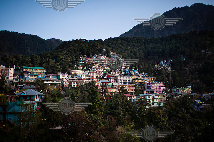 A view of j.Dharamsala.