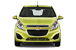 Straight front view of a 2013 Chevrolet Spark LS
