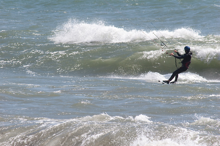 Scooner Gulch Beach south of Point Arena on the Mendocino Coast is a favorite spot for wind sports and surfing.