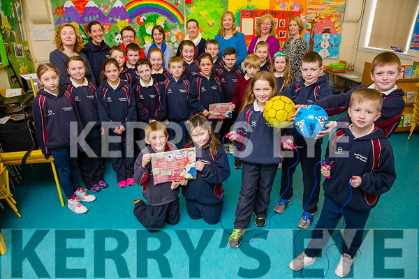 Kilmoyley National School Operation Transformation Fundraiser was launched on Friday