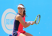 June 17th 2017, Nottingham, England;WTA Aegon Nottingham Open Tennis Tournament day 6;  Johanna Konta of Great Britain in action on the centre court in the semi final against Magdalena Rybarikova of The Slovak Republic