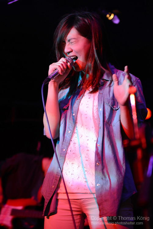 Rocks, Kaohsiung -- MIRROR, lead singer of the Kaohsiung-based band FOGBOW (霧虹).