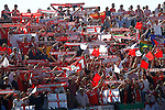 Sevilla FC's supporters during La Liga match. October 15,2016. (ALTERPHOTOS/Acero)