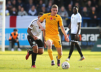 Ethan Hamilton of Southend United, currently on loan from Manchester United during Dover Athletic vs Southend United, Emirates FA Cup Football at the Crabble Athletic Ground on 10th November 2019