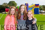 Enjoying the Tralee Rugby Club Family Fun Day at O'Dowd Park on Sunday wereL-r  Katie McCoy, Gene Ahern and Ella McCoy