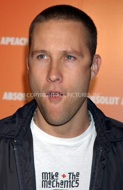 WWW.ACEPIXS.COM . . . . . ....NEW YORK, NEW YORK, MAY 16TH 2005....Michael Rosenbaum at the Absolut Peach launch at Koi in the Bryant Park Hotel....Please byline: KRISTIN CALLAHAN - ACE PICTURES.. . . . . . ..Ace Pictures, Inc:  ..Craig Ashby (212) 243-8787..e-mail: picturedesk@acepixs.com..web: http://www.acepixs.com