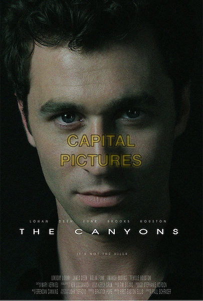 POSTER ART<br /> in The Canyons (2013) <br /> *Filmstill - Editorial Use Only*<br /> CAP/FB<br /> Image supplied by Capital Pictures
