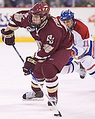 Chris Collins (Jeremy Hall) - The Boston College Eagles defeated the University of Massachusetts-Lowell River Hawks 4-3 in overtime on Saturday, January 28, 2006, at the Paul E. Tsongas Arena in Lowell, Massachusetts.