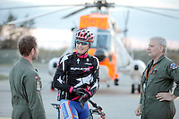 Crew from Norwegian Air Force 330 squadron, flying Westland Sea King helicopter. The core mission of the squadron is SAR (search and rescue), but they also fly HEMS (Helicopter Emergency Medical Service), complementing the civilian air ambulance service.<br /> This crew fly out of Rygge Air Station, Norway.