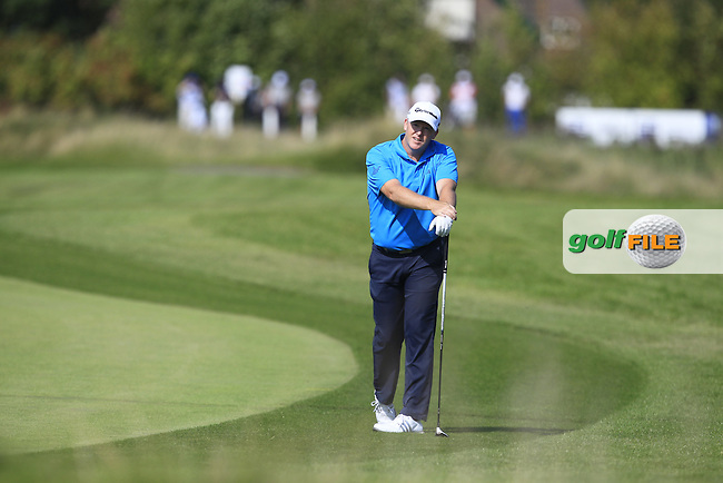 Marcus Fraser (AUS) on the 6th fairway during Round 1 of the 2016 KLM Open at the Dutch Golf Club at Spijk in The Netherlands on Thursday 08/09/16.<br /> Picture: Thos Caffrey | Golffile