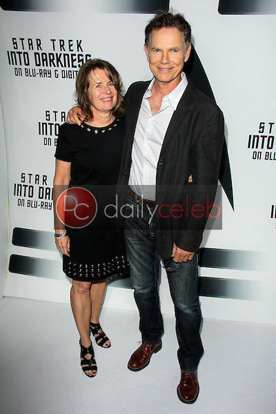 """Bruce Greenwood and wife<br /> at the """"Star Trek Into Darkness"""" Blu-Ray and DVD Release Party, California Science Center, Los Angeles, CA 09-10-13<br /> David Edwards/Dailyceleb.com 818-249-4998"""