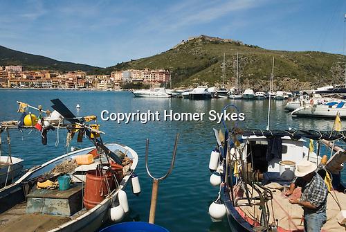 porto ercole italy monte argentario tuscany harbour