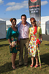 Anne Dolan, Brian Dolan and Sarah Carley at the Bellewstown Races 2011...(Photo credit should read Jenny Matthews www.newsfile.ie)....This Picture has been sent you under the conditions enclosed by:.Newsfile Ltd..The Studio,.Millmount Abbey,.Drogheda,.Co Meath..Ireland..Tel: +353(0)41-9871240.Fax: +353(0)41-9871260.GSM: +353(0)86-2500958.email: pictures@newsfile.ie.www.newsfile.ie.