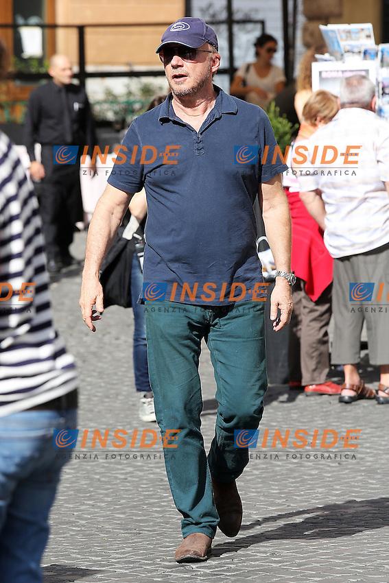 "Paul Haggis film director.Roma 22/10/2012 Set del film The Third Person..""The Third Person"" filming set..Photo Ernst/Insidefoto"