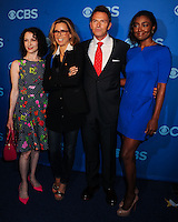 NEW YORK CITY, NY, USA - MAY 14: Bebe Neuwirth, Tea Leoni, Tim Daly, Patina Miller at the 2014 CBS Upfront held at Carnegie Hall on May 14, 2014 in New York City, New York, United States. (Photo by Celebrity Monitor)