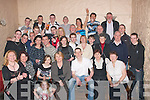 -8626-8630.---------.Key to the door.---------------.Chris McGowan(seated 3rd from the Rt)Marian Pk Tralee held his 21st birthday bash in the Greyhound bar Pembroke St Tralee last Friday night surrounded by laods of family and friends.   Copyright Kerry's Eye 2008