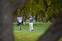 Byeong Hun An (KOR) makes his way down 1 during day 1 of the Valero Texas Open, at the TPC San Antonio Oaks Course, San Antonio, Texas, USA. 4/4/2019.<br /> Picture: Golffile | Ken Murray<br /> <br /> <br /> All photo usage must carry mandatory copyright credit (© Golffile | Ken Murray)