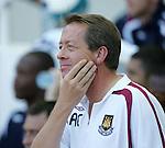 West Ham's Alan Curbishley. .Pic SPORTIMAGE/David Klein..Pre-Season Friendly..West Ham United v Roma..4th August, 2007..--------------------..Sportimage +44 7980659747..admin@sportimage.co.uk..http://www.sportimage.co.uk/