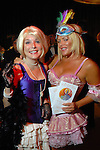Kristen Cannon and Amanda Mills at the Orange Show Gala at Adickes SculpturWorx Studio  Saturday  Nov. 03,2007.(Dave Rossman/For the Chronicle)
