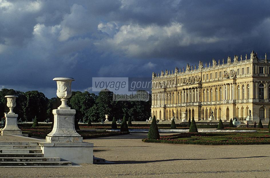 Europe/France/Ile-de-France/78/Yvelines/Versailles/Château de Versailles: Les jardins et le Château
