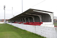 The main stand during Barking vs South Park, BetVictor League South Central Division Football at Mayesbrook Park on 7th March 2020