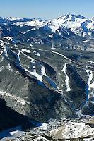 aerial of Telluride