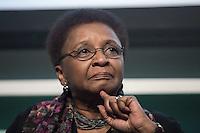 ***ATENÇÃO EDITOR FOTO DE ARQUIVO***<br /> Foto de arquivo de 29/10/2014 da ex-ministra da Secretaria de Políticas de Promoção da Igualdade Racial, Luiza Helena de Bairros em evento em São Paulo. A ex-ministra faleceu nesta terça-feira, aos 63 anos, em Porto Alegre, em decorrência de um câncer de pulmão. Luiza foi ministra do governo Dilma entre os anos de 2011 e 2014. (Foto: Adriana Spaca/Brazil Photo Press)