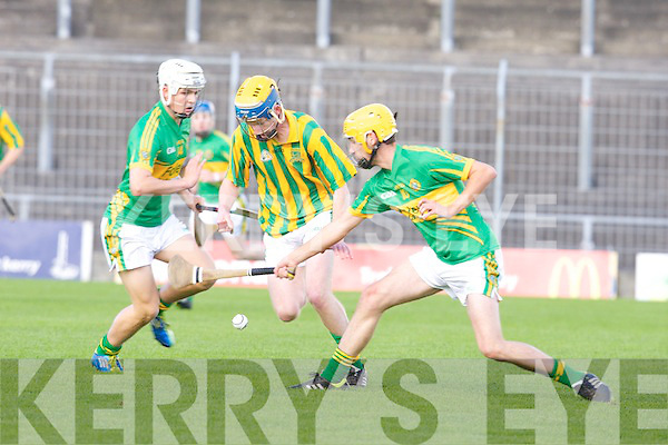 Lixnaw v Kilmoyley in the Minor Hurling Championship Final at Austin Stack park, Tralee on Saturday.