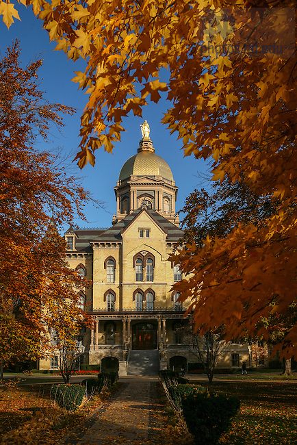 Nov. 14, 2007; Dome in fall. (Photo by Matt Cashore/University of Notre Dame)