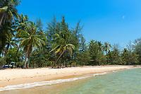 Empty northern Ong Lang Beach, Phuquoc, Vietnam