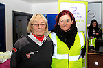 Marie Walsh from the Order of Malta with Annemarie Larkin at the Operation Transformation National Walk...Photo NEWSFILE/Jenny Matthews..(Photo credit should read Jenny Matthews/NEWSFILE)