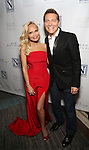 Kristin Chenoweth and Michael Feinstein attend the Opening Night celebration for Kristin Chenoweth - 'My Love Letter To Broadway'  at the Bar Sixty Five at the Rainbow Room Bar on November 2, 2016 in New York City.